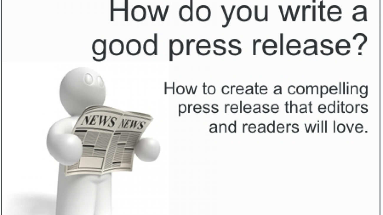 How to write good press release
